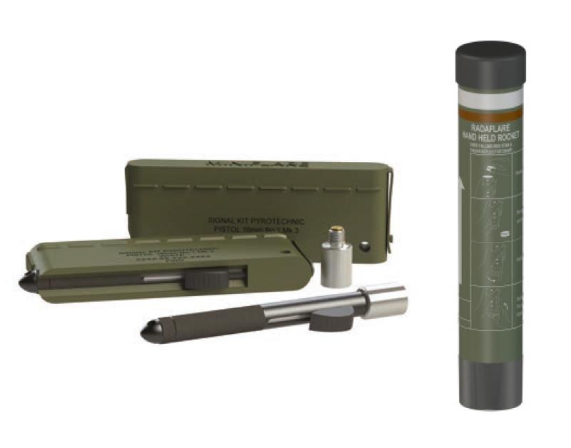 Miniflares and Handheld Illuminating Rocket